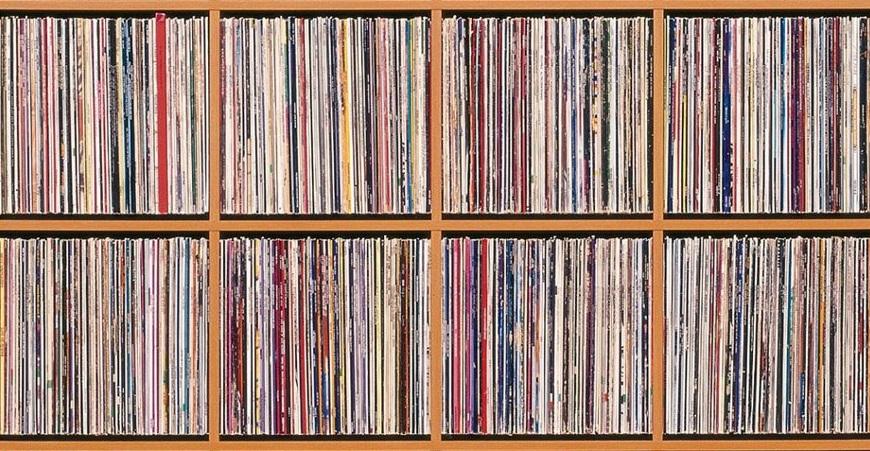 Vinylregal
