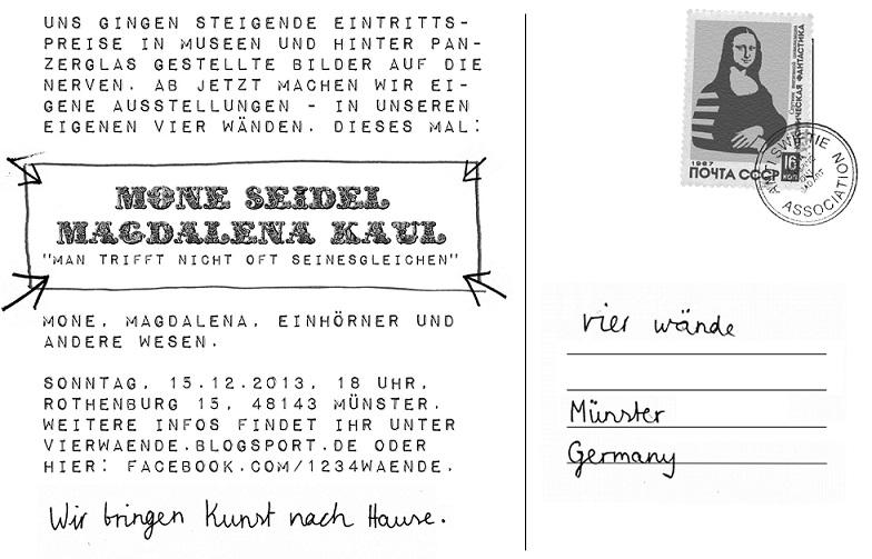 Flyer, Vier Wände #15